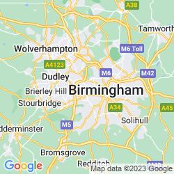 Map of Smethwick