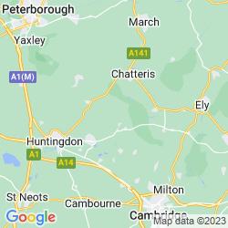 Map of Somersham