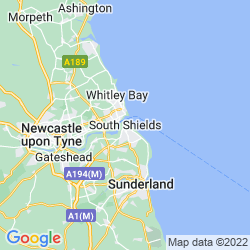 Map of South Shields