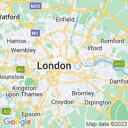 Map of Southwark