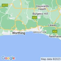 Map of Southwick
