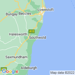 Map of Southwold