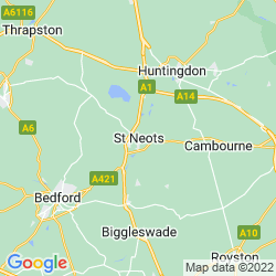 Map of St Neots