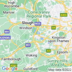 Map of Staines