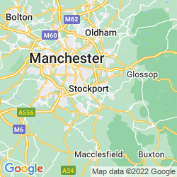 Map of Stockport