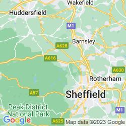 Map of Stocksbridge