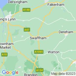 Map of Swaffham