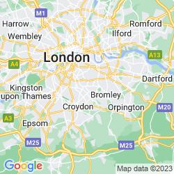 Map of Sydenham