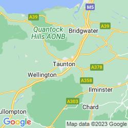 Map of Taunton