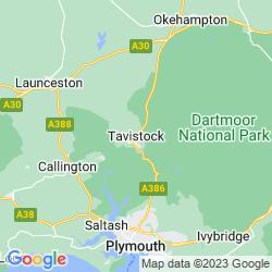Map of Tavistock
