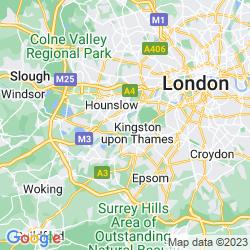 Map of Teddington
