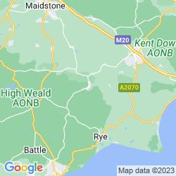Map of Tenterden