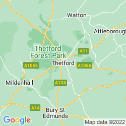 Map of Thetford