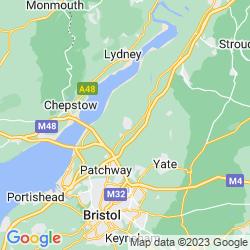 Map of Thornbury