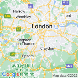 Map of Tooting