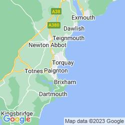 Map of Torquay