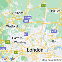 Map of Totteridge