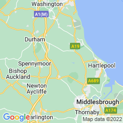 Map of Trimdon