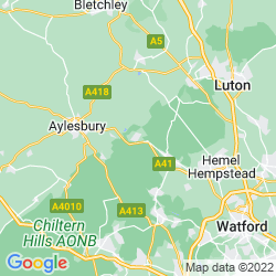 Map of Tring