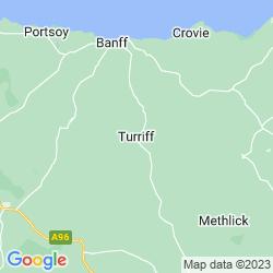 Map of Turriff