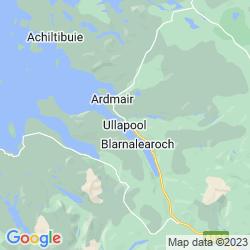 Map of Ullapool