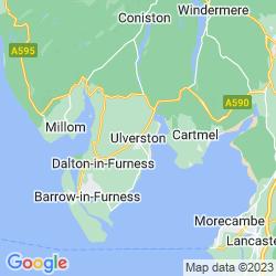 Map of Ulverston