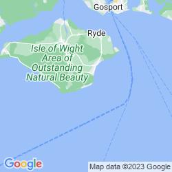 Map of Ventnor