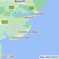 Map of Walton On The Naze