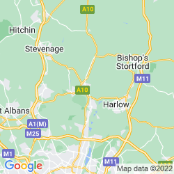 Map of Ware