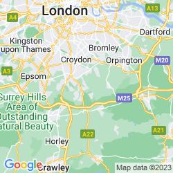 Map of Warlingham
