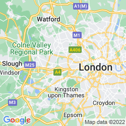 Map of West Ealing
