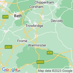 Map of Westbury