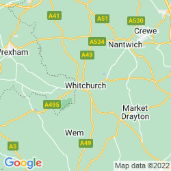 Map of Whitchurch