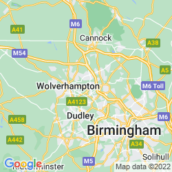 Map of Willenhall