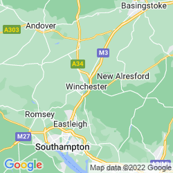 Map of Winchester