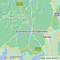 Map of Windermere