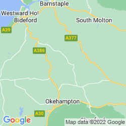 Map of Winkleigh