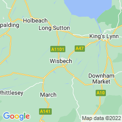 Map of Wisbech