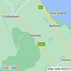 Map of Wooler