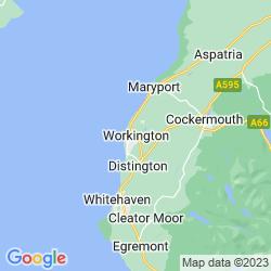 Map of Workington