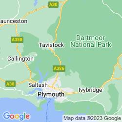 Map of Yelverton