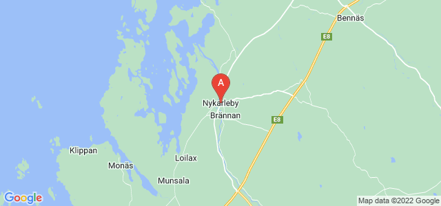map of Uusikaarlepyy, Finland