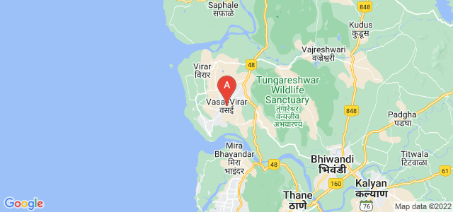 map of Vasai-Virar, India