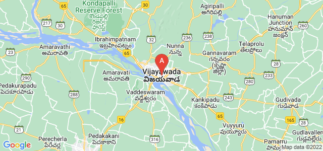 map of Vijayawada, India
