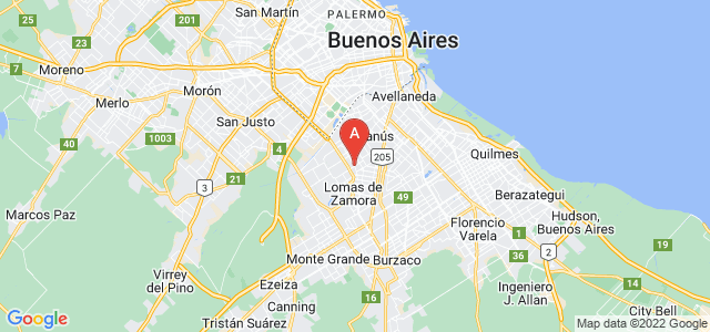 map of Villa Centenario, Argentina