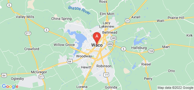 map of Waco, United States of America