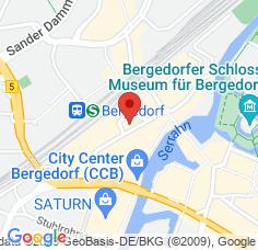 Google Maps / Routenplaner Augenarzt HH-Bergedorf 3.OG