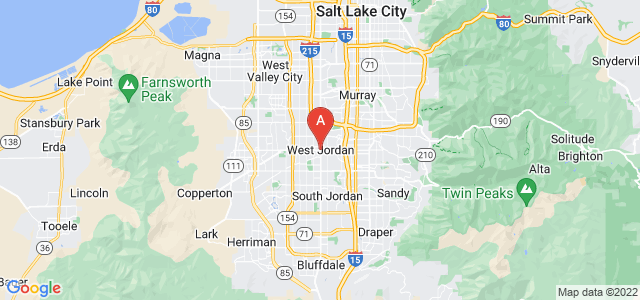 map of West Jordan, United States of America