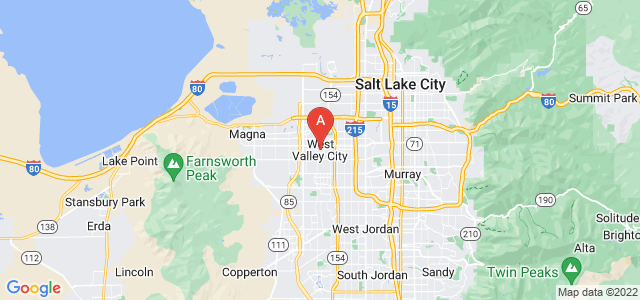 map of West Valley City, United States of America