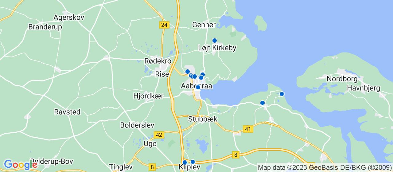 mekaniker firmaer i Aabenraa